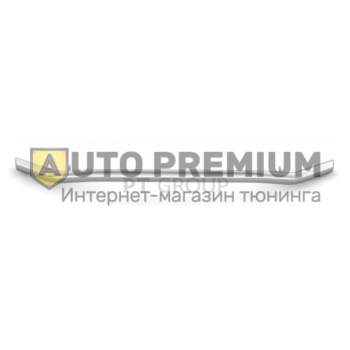 Защита переднего бампера Ø63мм «Волна» (НПС) УАЗ Патриот с 2014